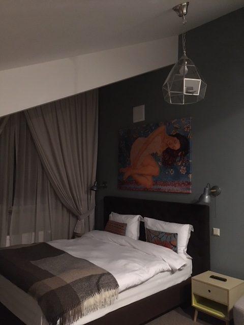 La meravigliosa camera del Zentrum hotel