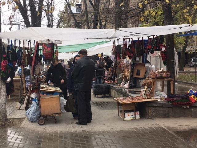 Mercato a Chisinau