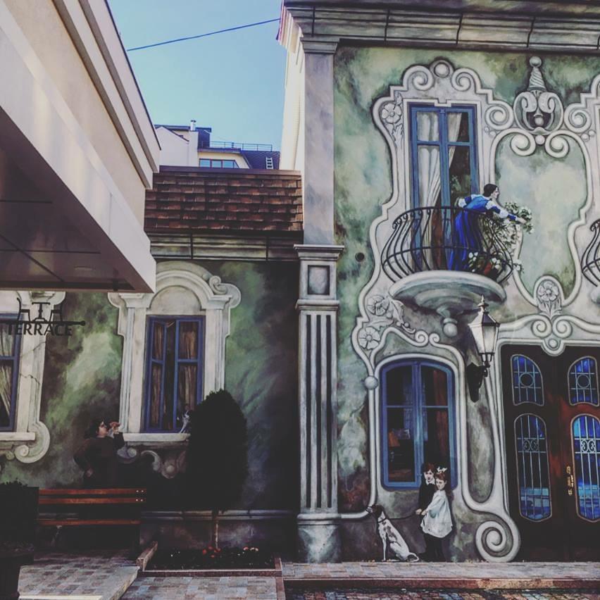Graffiti di Chisinau