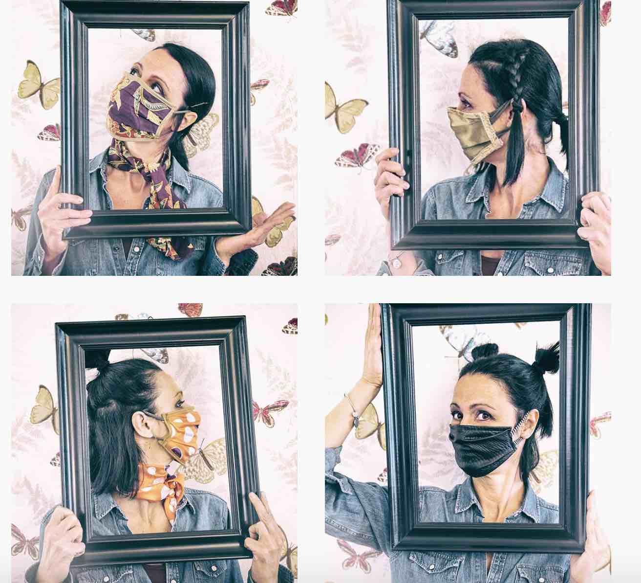 Le mascherine fashion di Patrizia Belsito