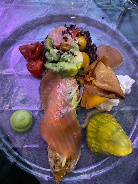 Piatto dello chef Massimo D'Innoncenti