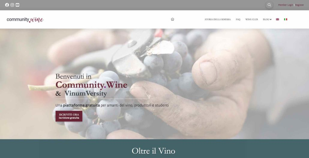 Community.wine di Rimessa Roscioli