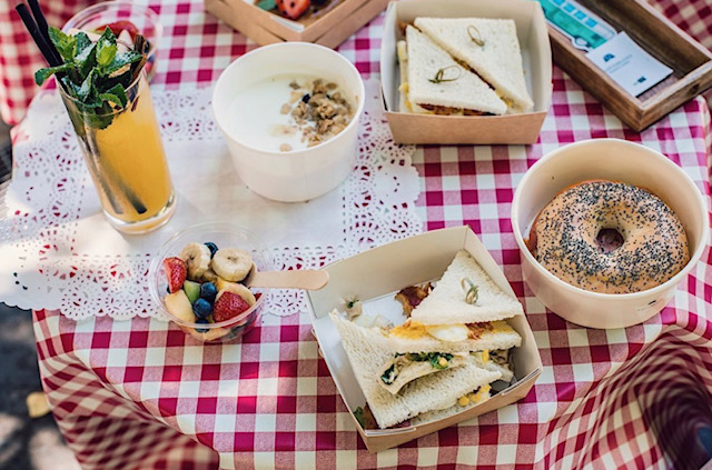 Formula picnic MEDÏTERRANEO. Ristorante e Giardino