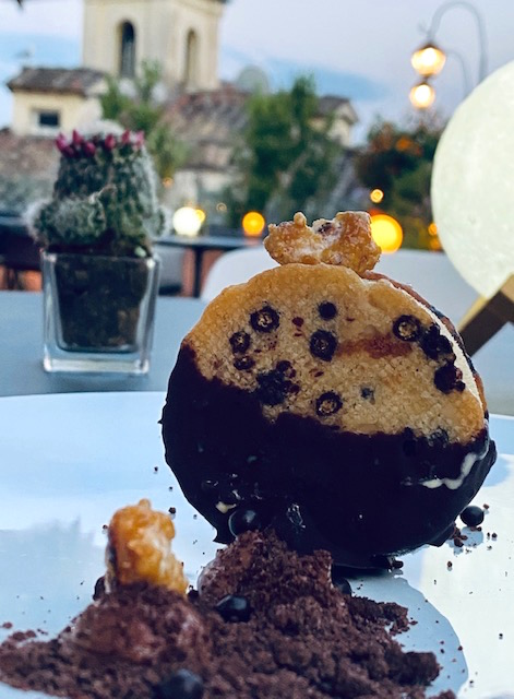 Cookie gelato di VERVE Restaurant