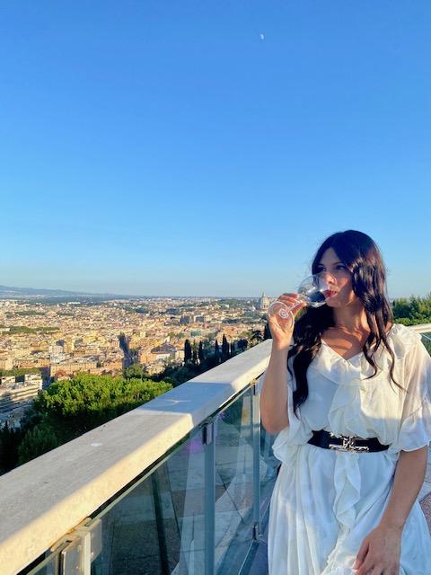 Sabrina Quartieri da Vista 101 Rome Cavalieri I viaggi di Bibi