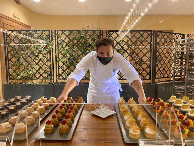 Executive Pastry Chef Dario Nuti al Sunday brunch