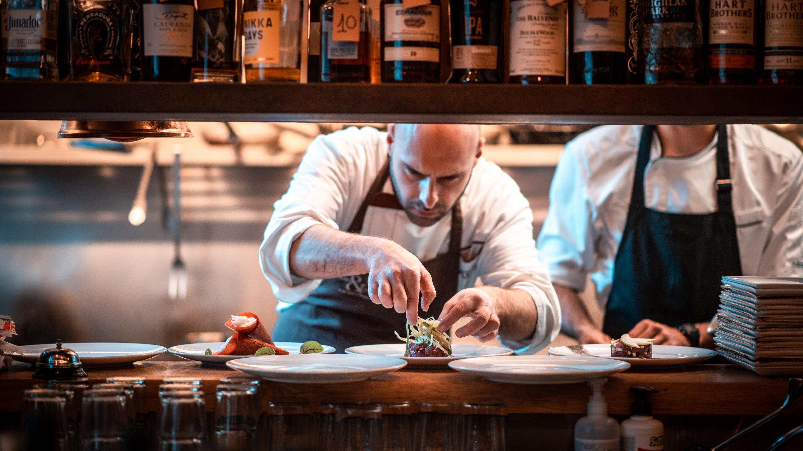 Chef Fulvio Penta Enoteca Verso Roma