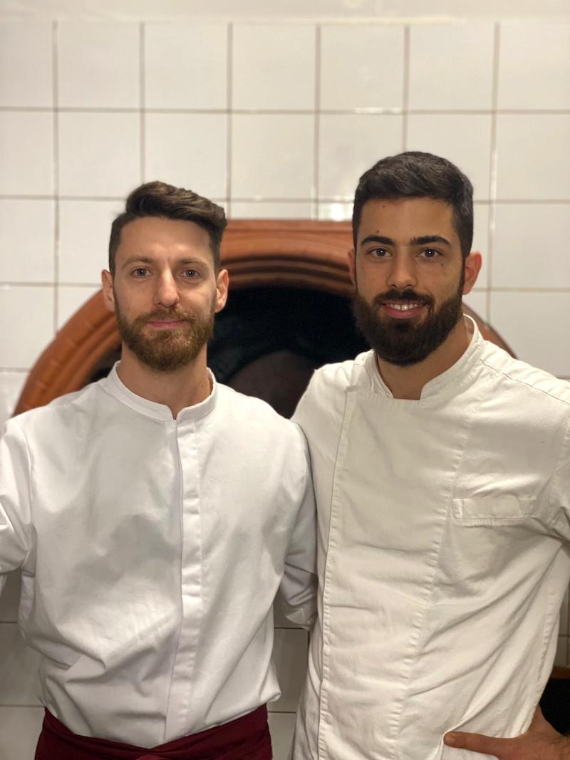 Christian Spalvieri e Matteo Gerardi di D'Istinto Trattoria