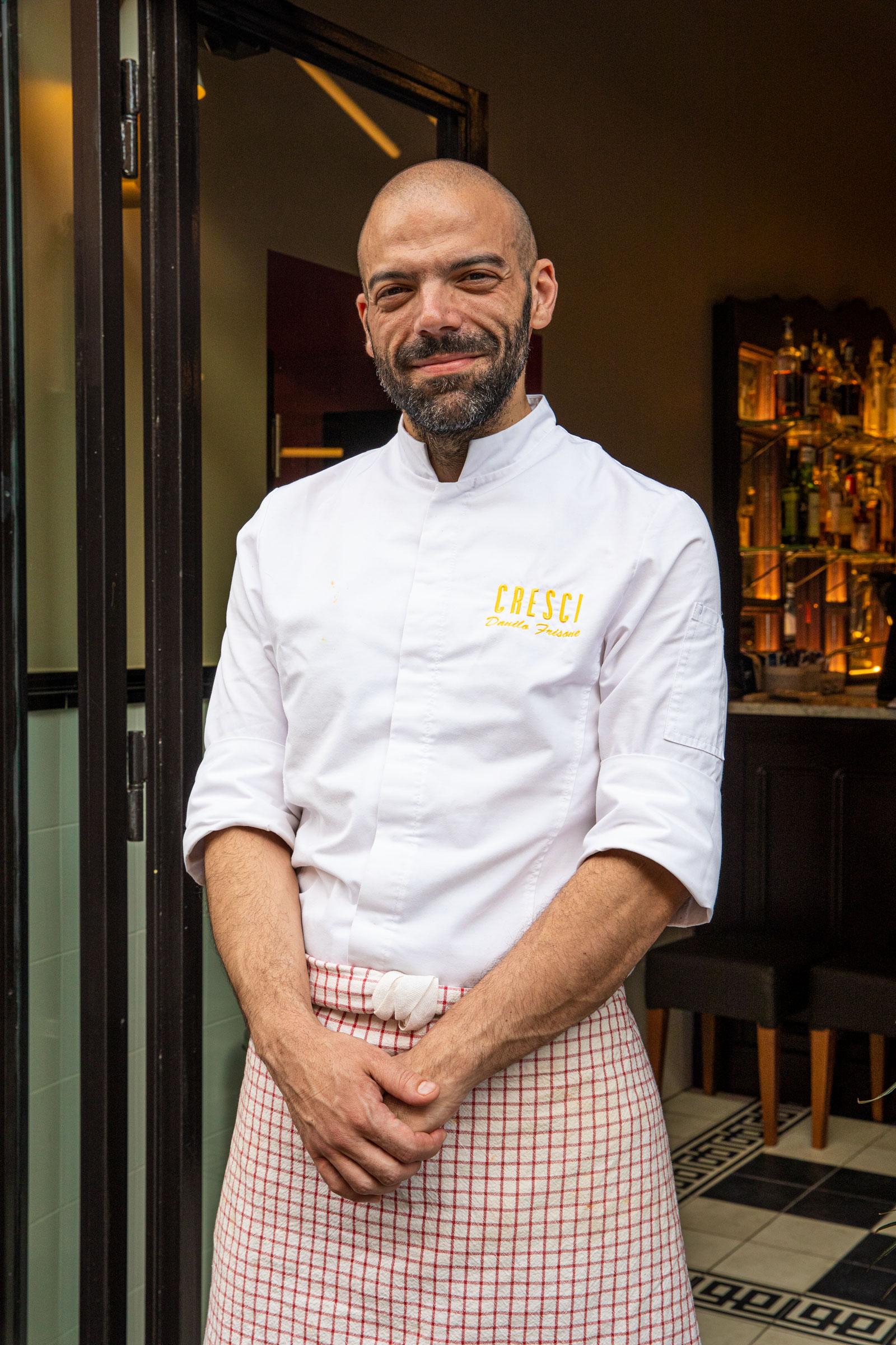 chef Danilo Frisone