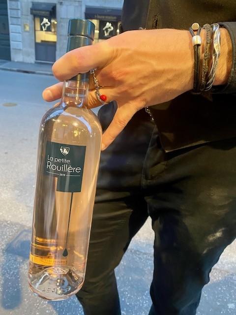 Il vino Rosé La Petite Rouilliere