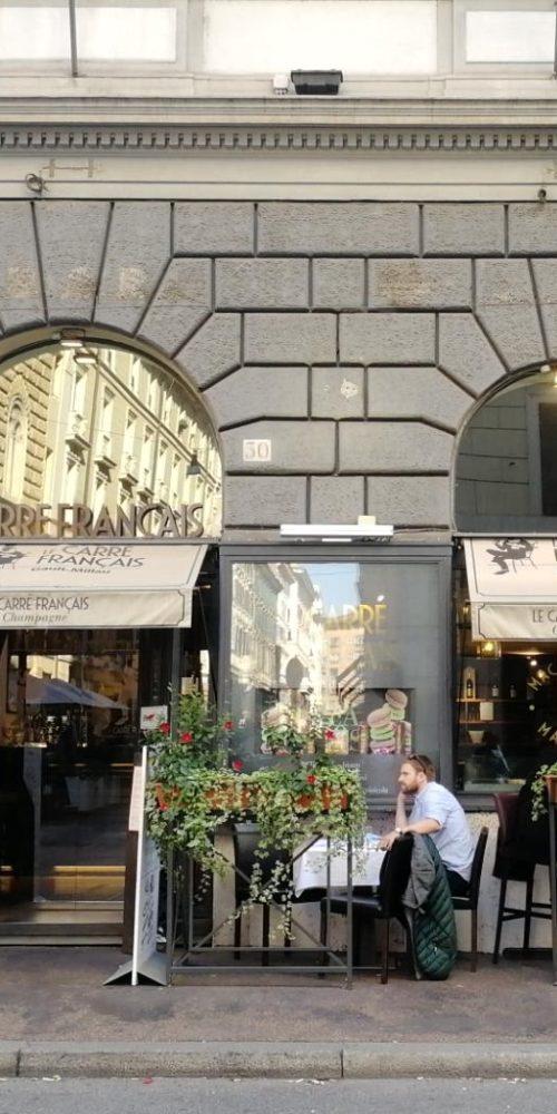 Aperitivo a Roma - dehors Le Carré Français