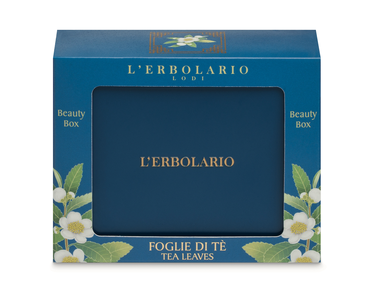beauty box l'erbolario foglie di tè oolong