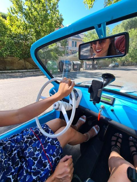 In tour con la Fiat 500 Spiaggina